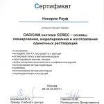 Сертификаты Насирова 11