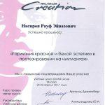 Сертификаты Насирова 8